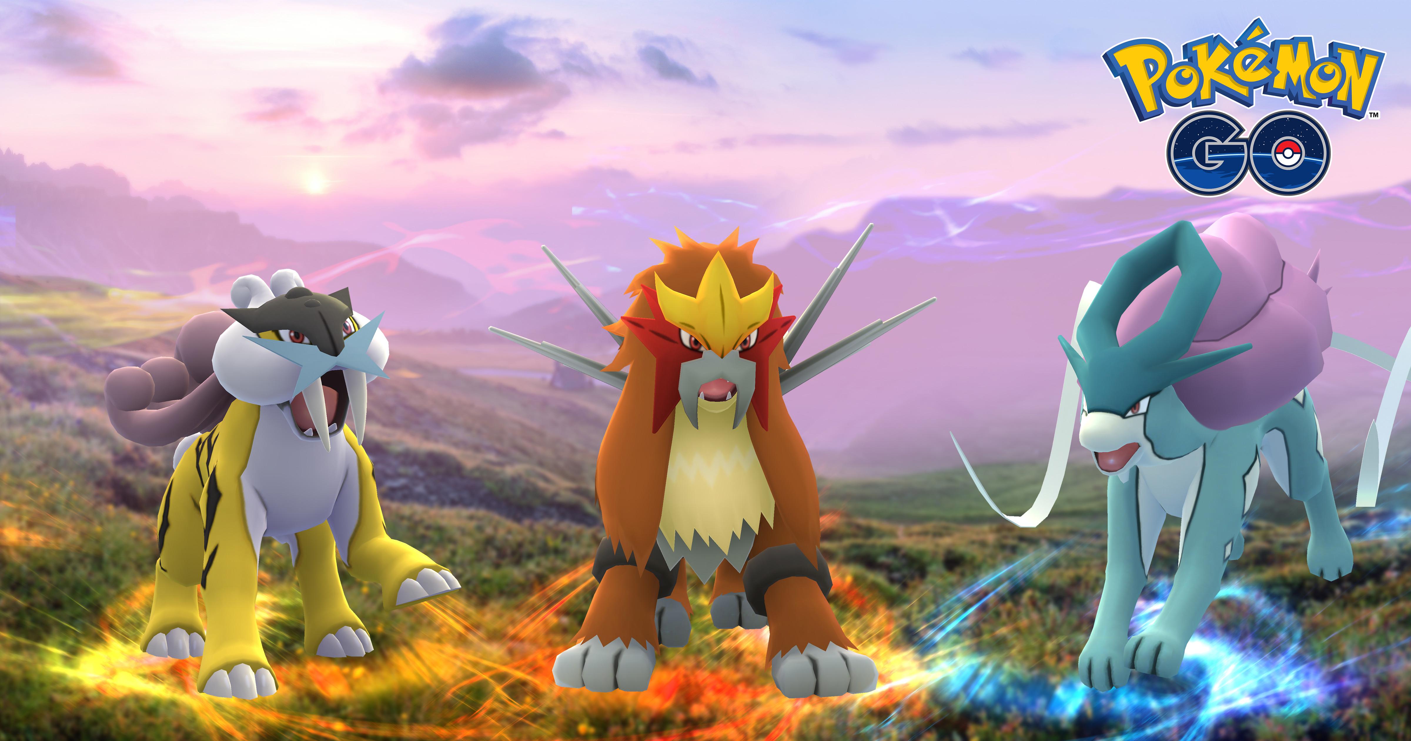 Pokémon GO: Die letzten Stunden mit Suicune, bald kommt Raikou