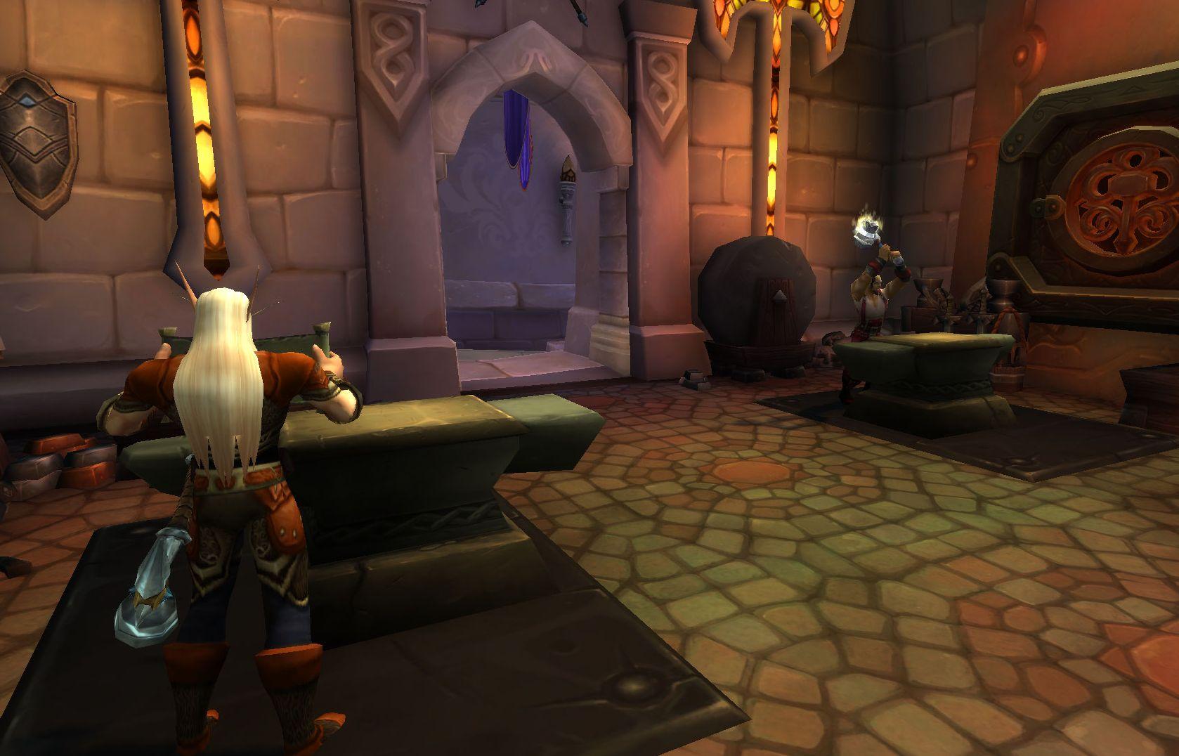 World of Warcraft crafting dalaran blacksmith