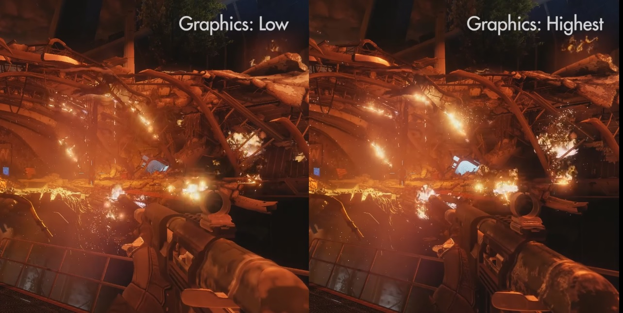Destiny 2: PC-Beta im Grafik-Vergleich – Low und Highest Settings