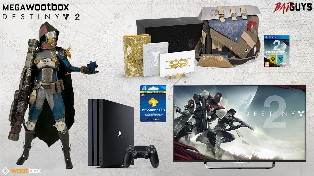 Wert von über 2000€ – Mega Wootbox Bad Guys ist voller Destiny-2-Stuff