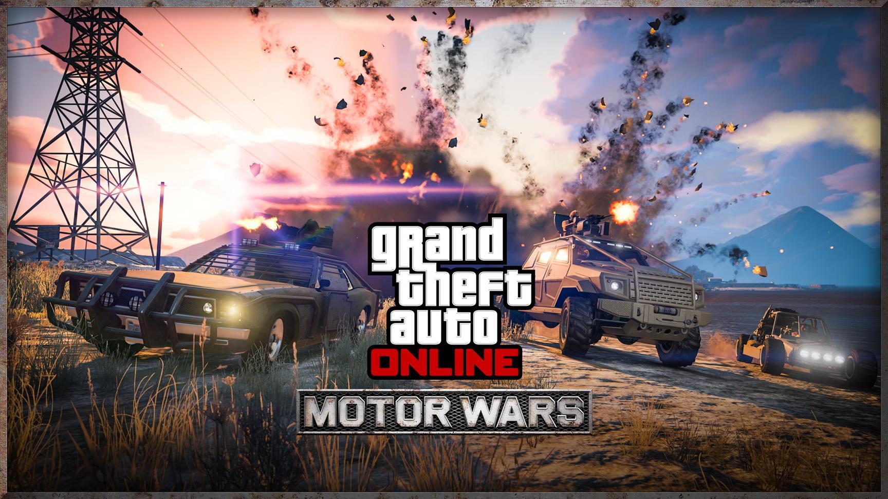 "GTA Online bekommt PUBG-Spielmodus – ""Motor Wars"""
