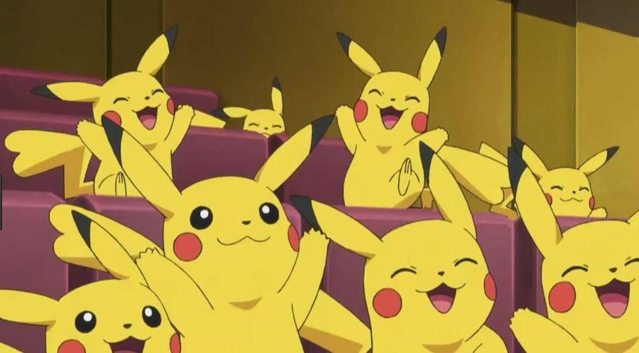 Pokémon GO Pikachu Freude