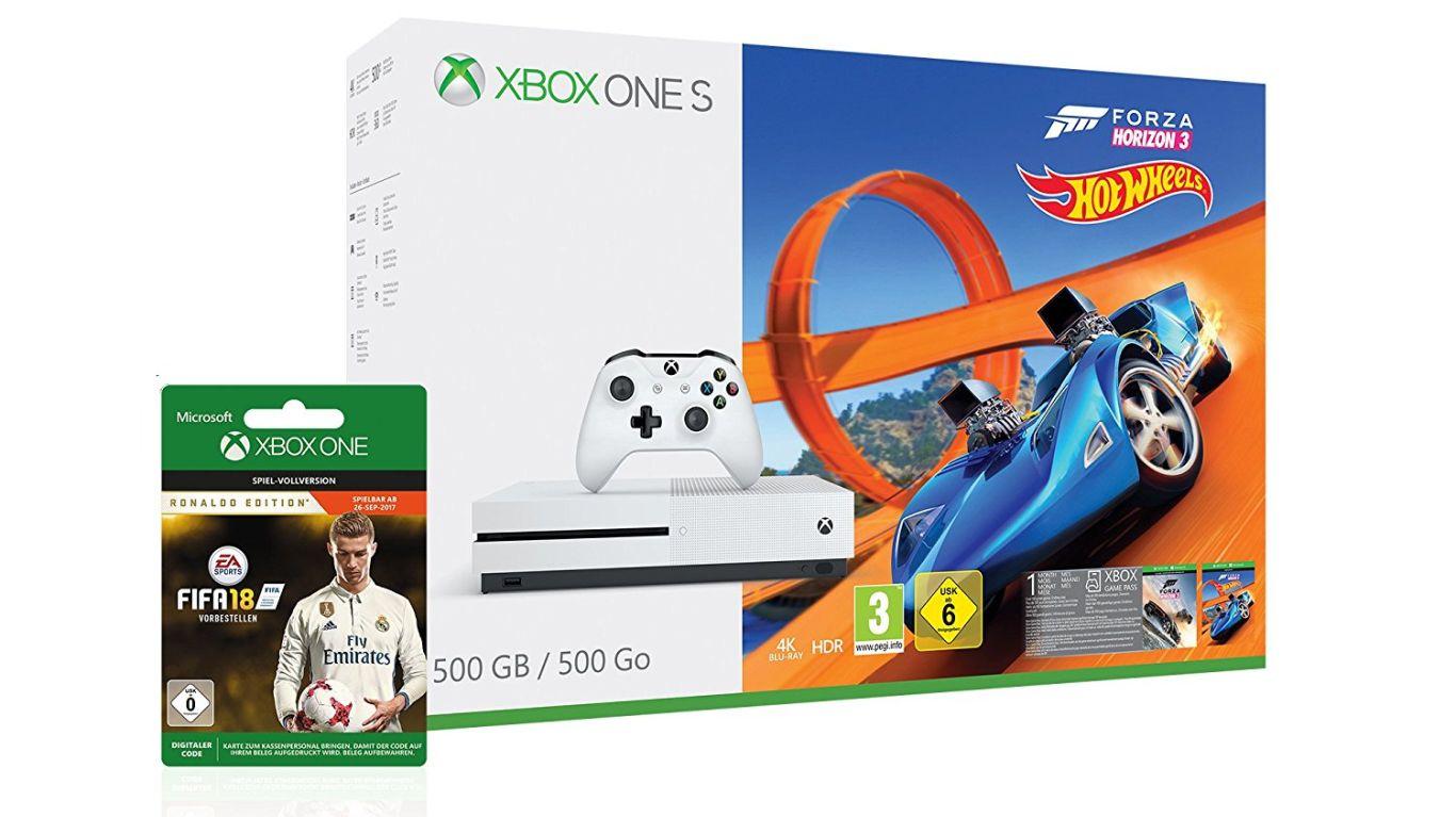 Amazon-Herbstangebote: Xbox One S Bundle mit FIFA 18