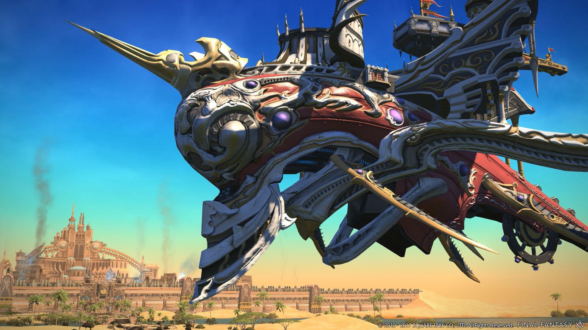 Final Fantasy XIV: Update 4.1 ist da & macht Stormblood noch gigantischer!