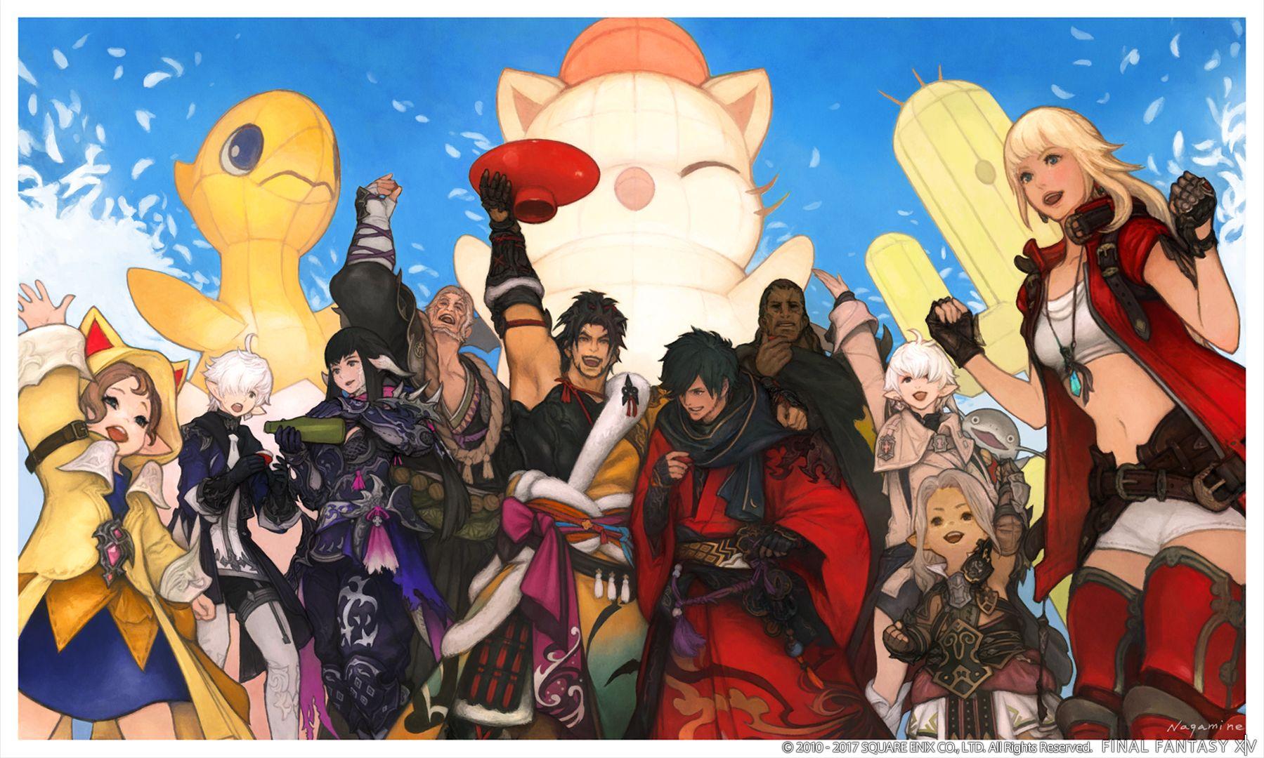 Update 4.1 führt epische Story von Final Fantasy XIV mit Ivalice-Raid fort