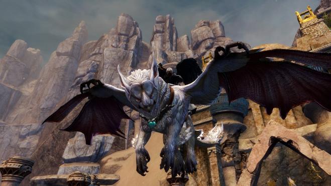 Guild Wars 2: Bugfix macht aus Greif einen störrischen Esel