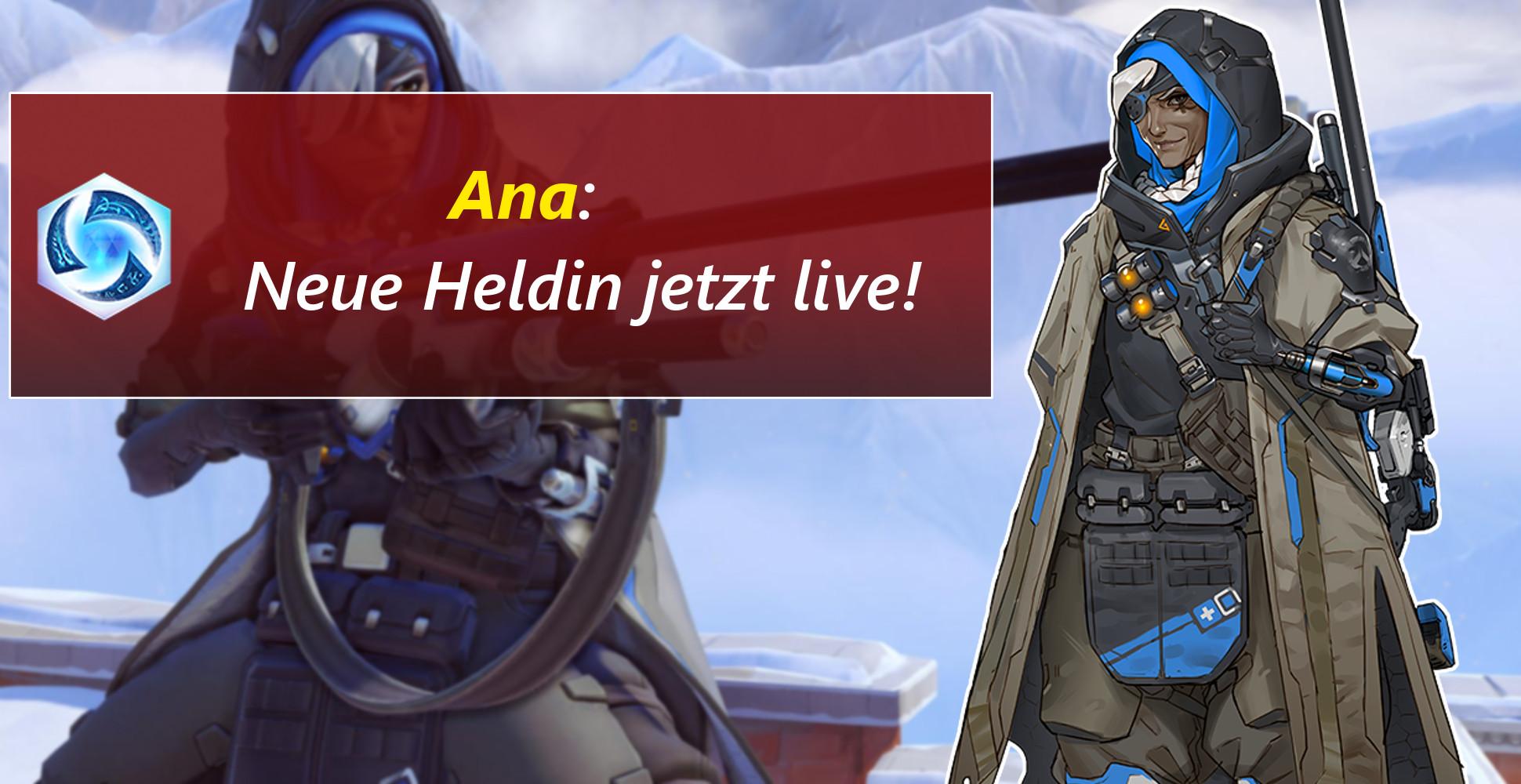 Heroes of the Storm: Overwatch-Heldin Ana heilt jetzt auch im Nexus