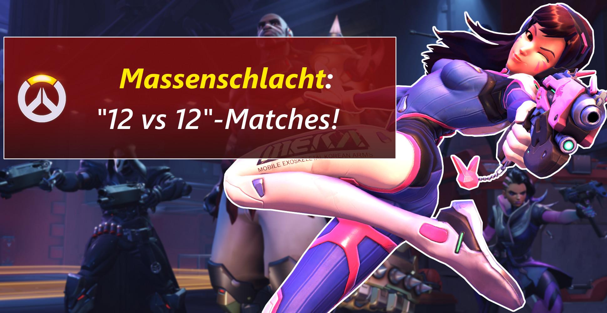 Overwatch: 12vs12-Matches funktionieren – Irrer Bug macht's möglich