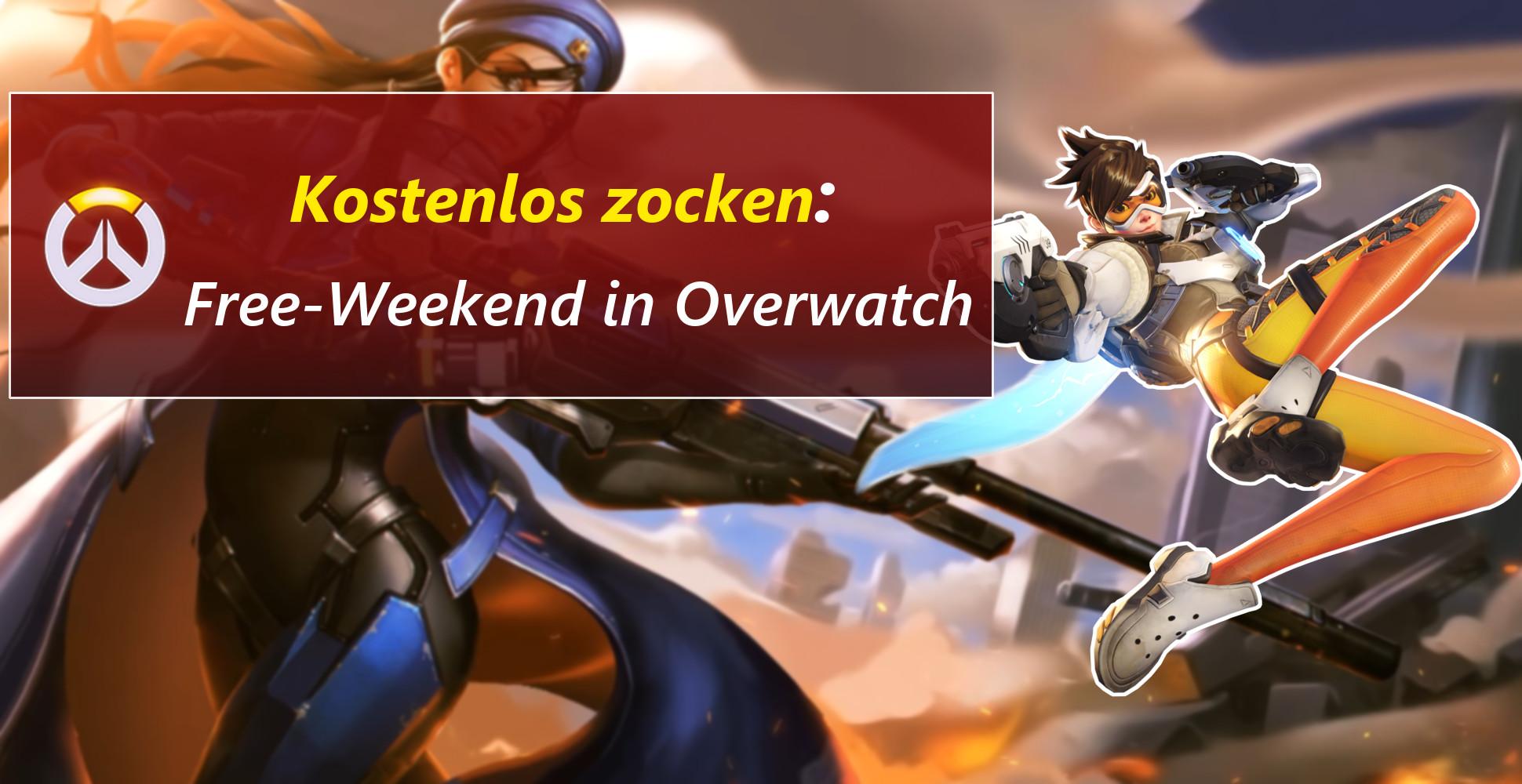 Ruft eure Freunde und zockt Overwatch an diesem Wochenende kostenlos!