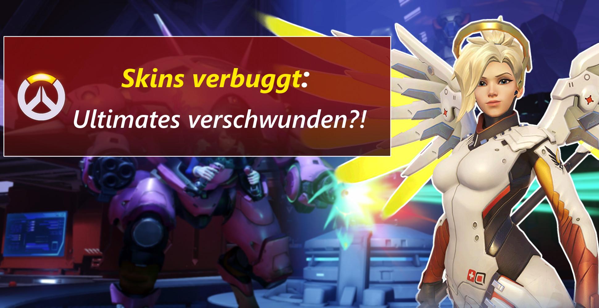 Overwatch Bug: Skins deaktiviert – Plötzlich war das Ultimate weg!