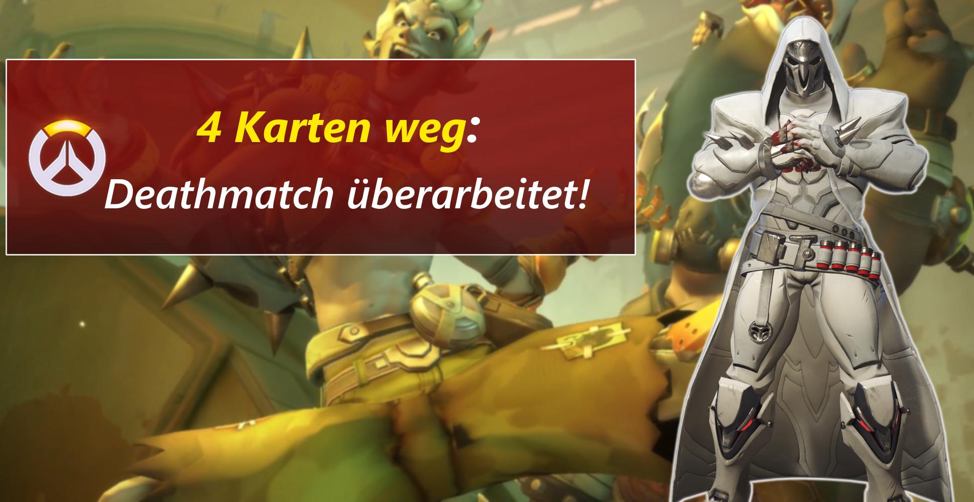 Feedback erhört! Overwatch entfernt 4 nervige Deathmatch-Karten