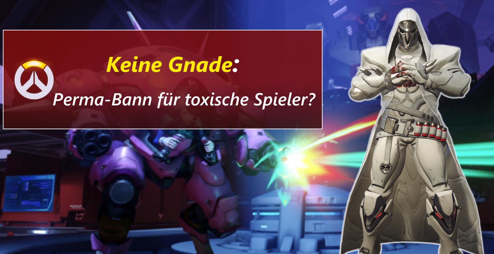 Overwatch: Wegen toxischen Spielern gibt's weniger neue Features