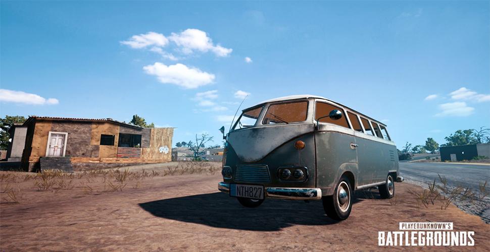 3 neue Fahrzeuge kommen zu PUBG – Bulli für Battlegrounds