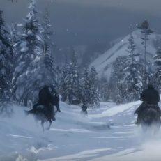 Red Dead Redemption 2 SChnee