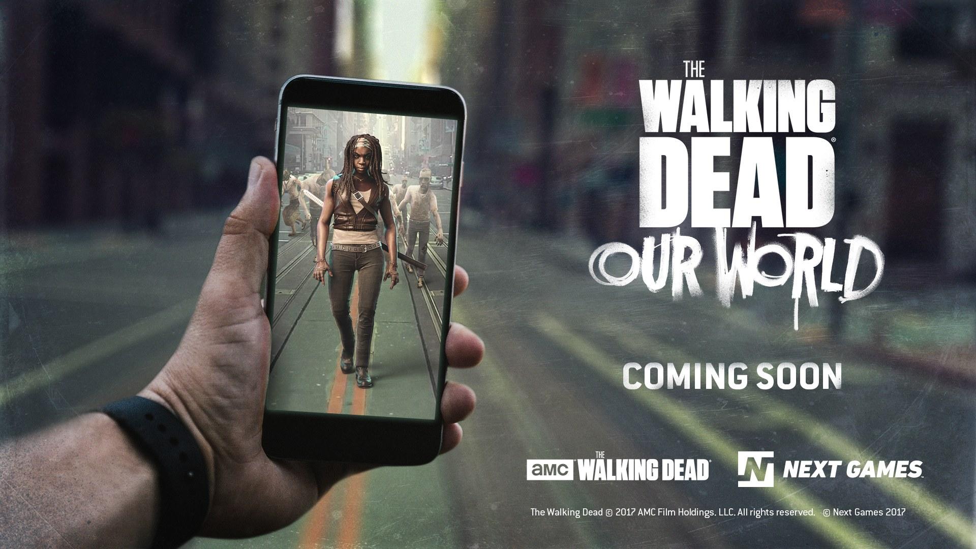 The Walking Dead trifft Pokemon GO: Zombies killen beim Einkaufen