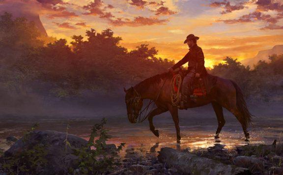 Wild West Online Sunset