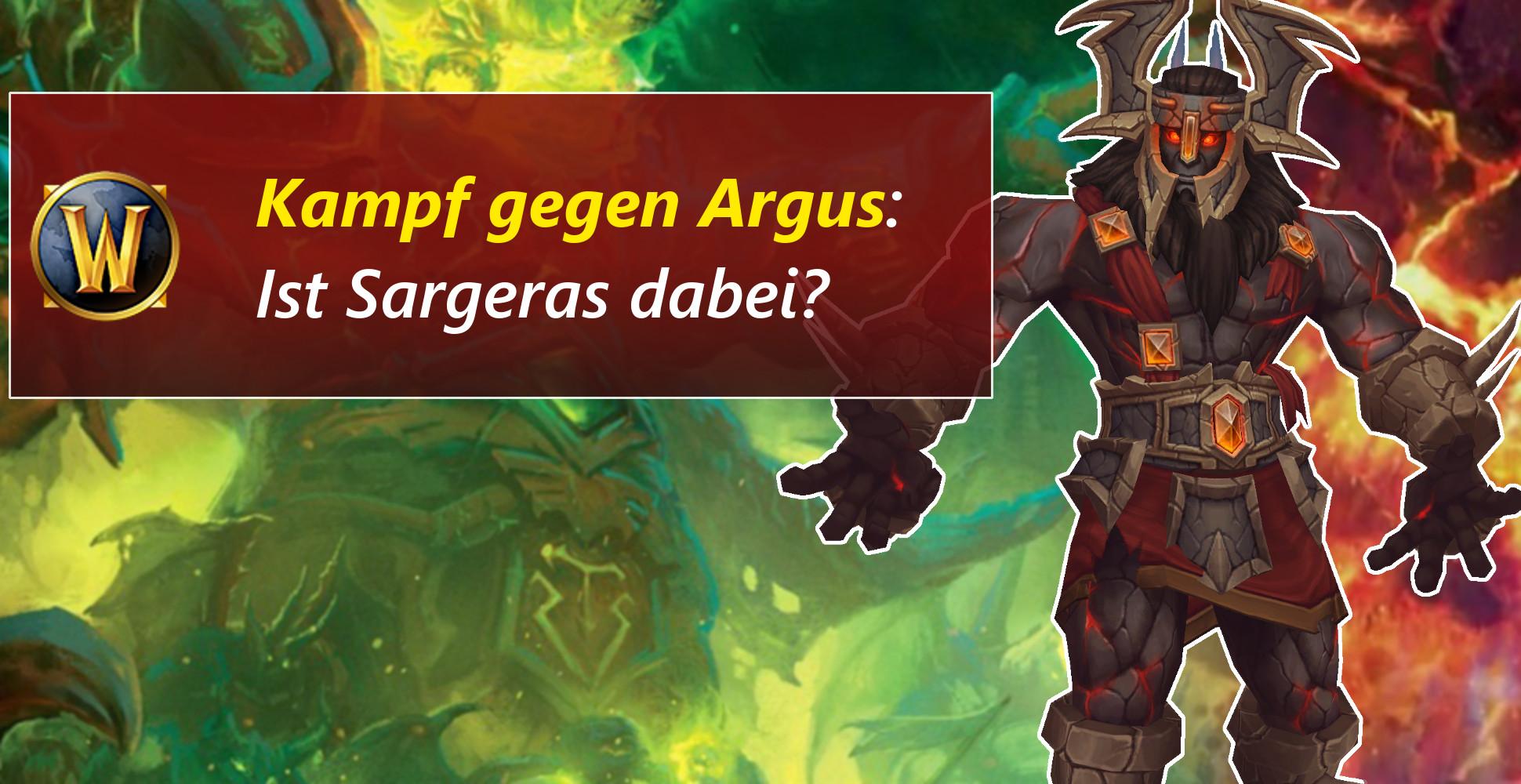 WoW: Bekommt Antorus einen Kampf gegen Sargeras auf Mythisch?