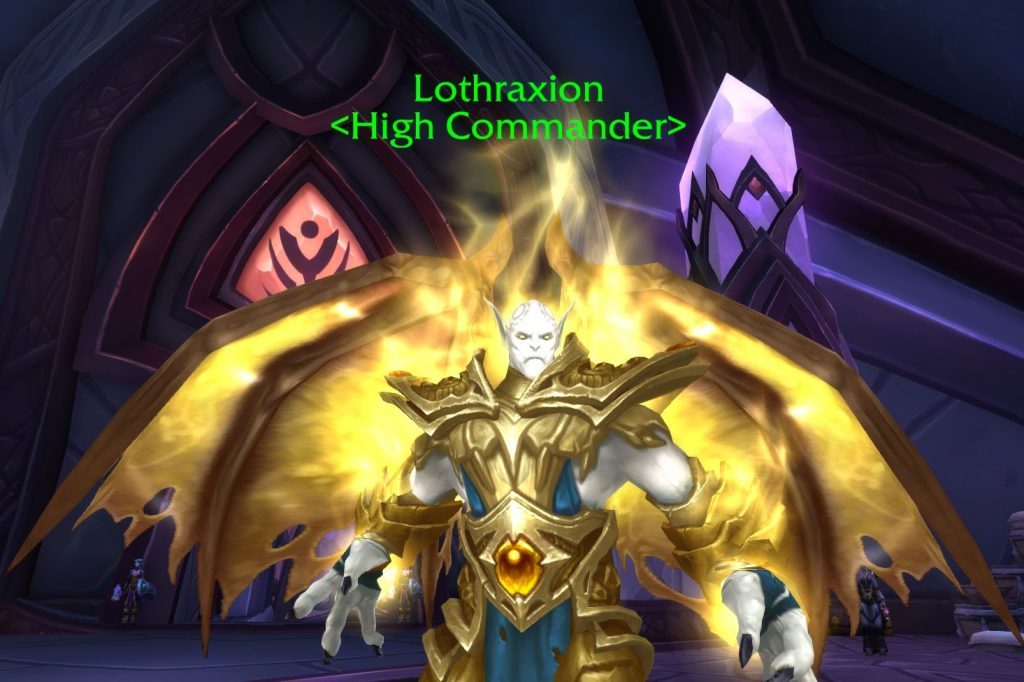 WoW Lothraxion Dreadlord of light