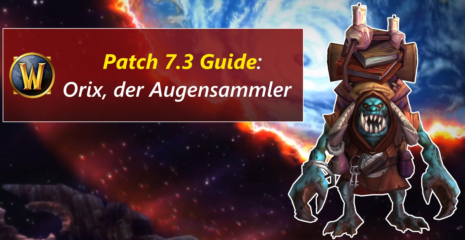 Argus-Händler WoW – Augensammler Orix will Intakte Dämonenaugen