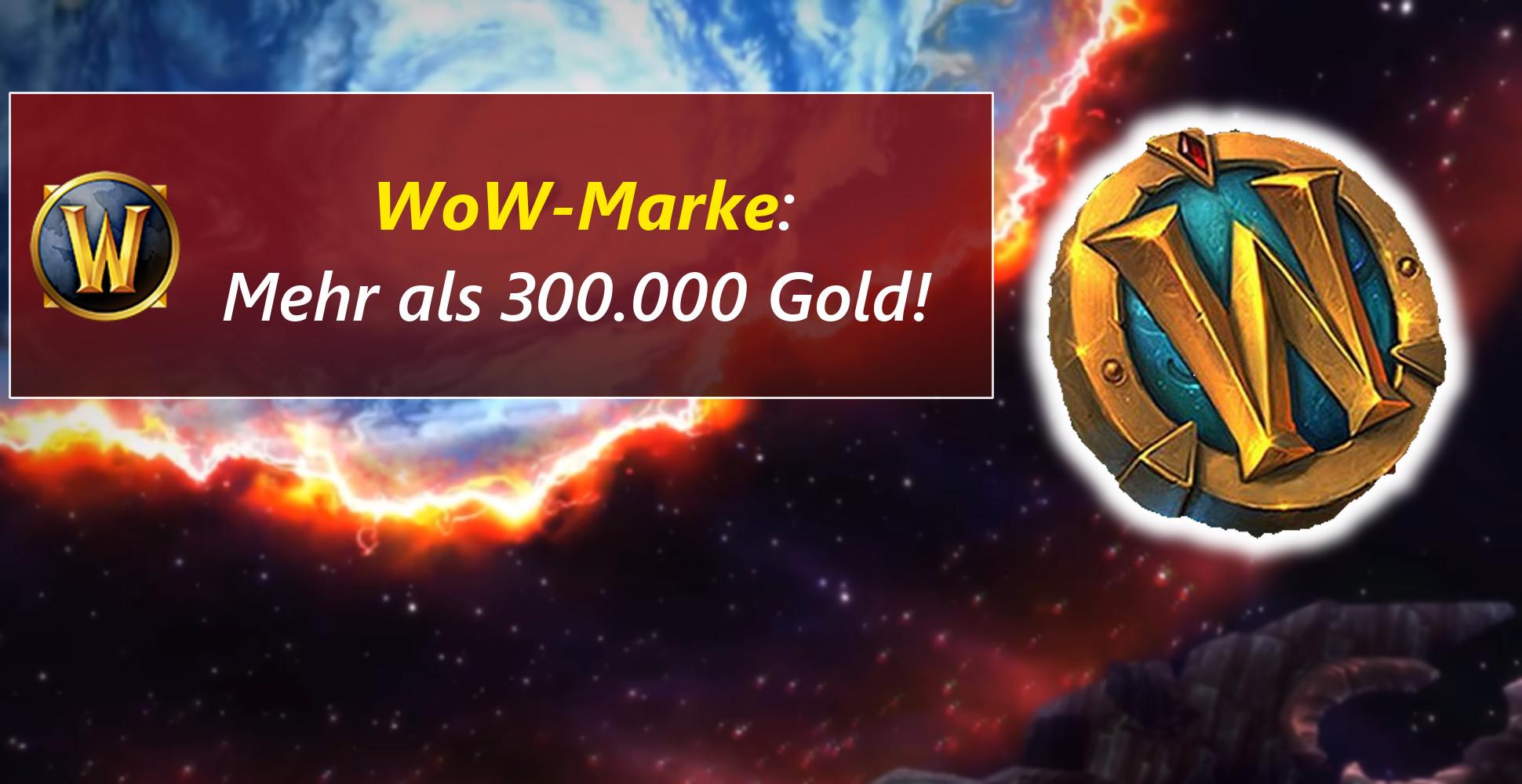 Preis der WoW-Marke explodiert – Danke, BlizzCon-Ticket!
