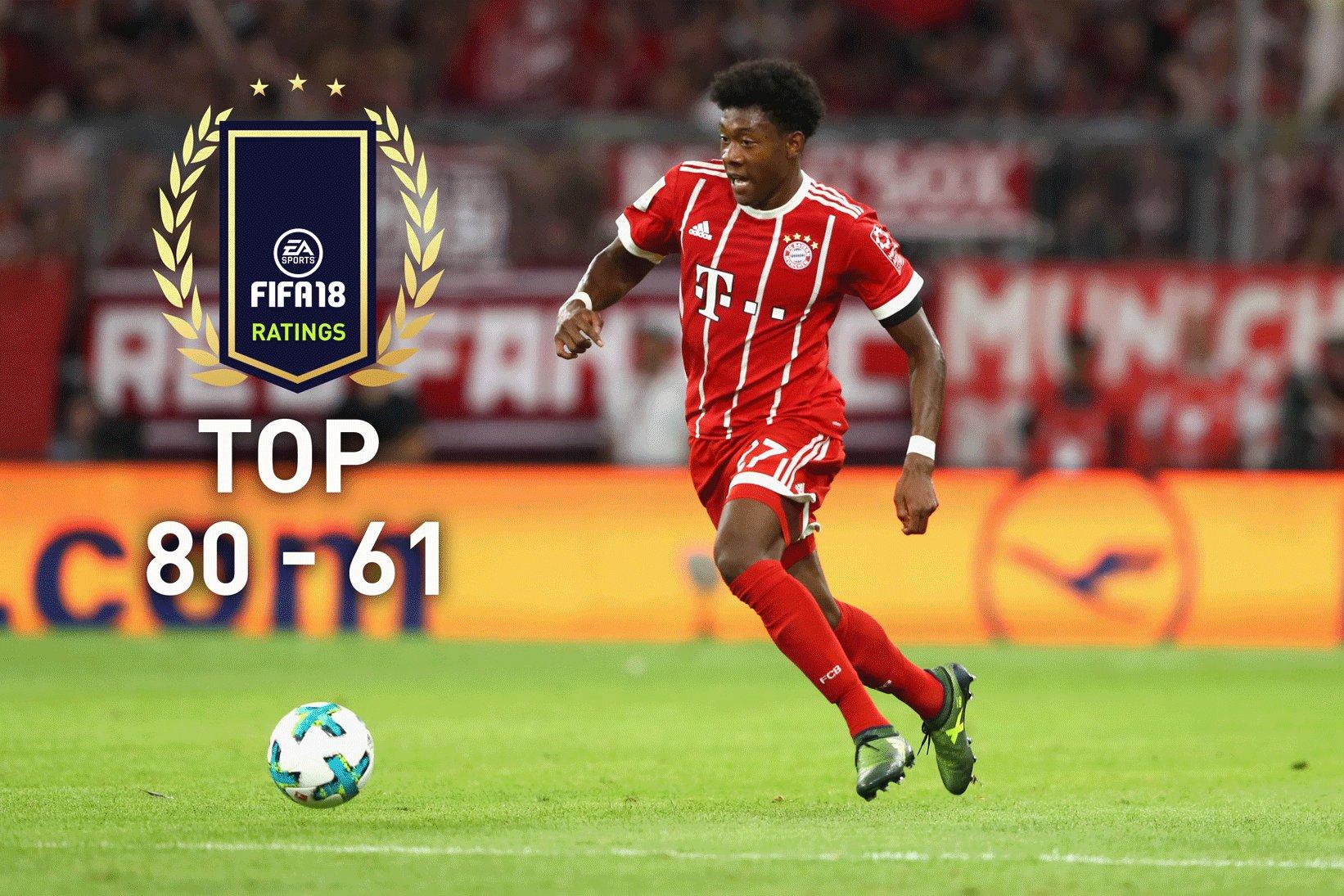 FIFA 18: Die Top 80-61 der Spielerwerte – 5-Sterne-Skiller sind dabei