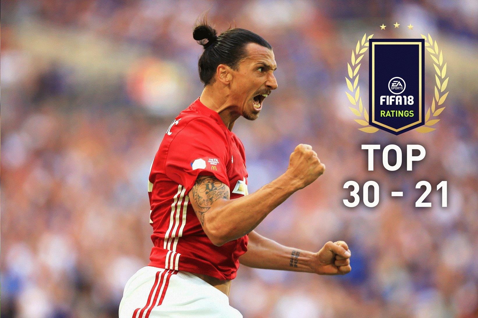 FIFA 18 Spielerwerte – Die Ratings Top 30-21