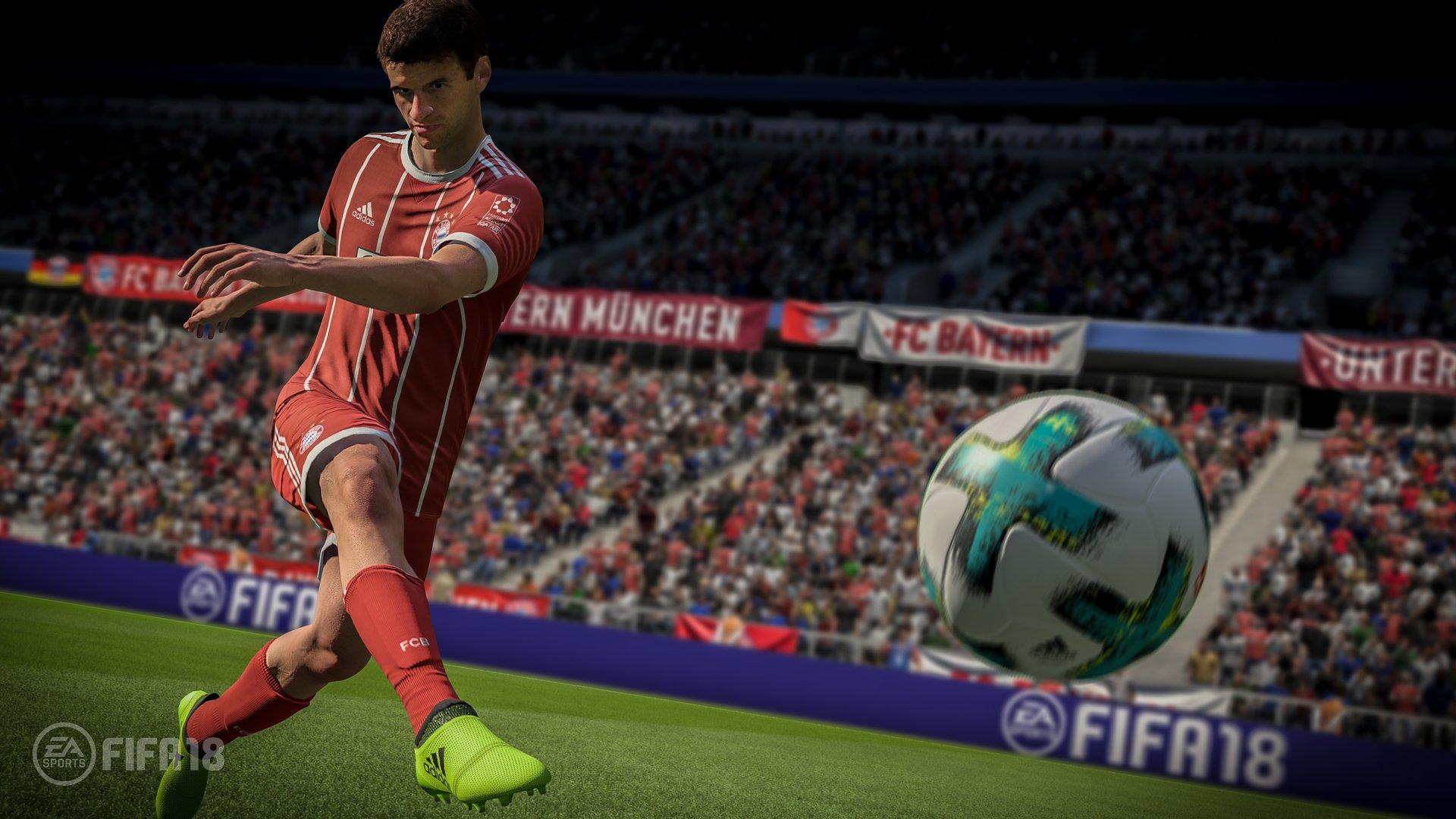 FIFA 18: Neues Titelupdate 1.10 behebt Trikotnummern-Bug
