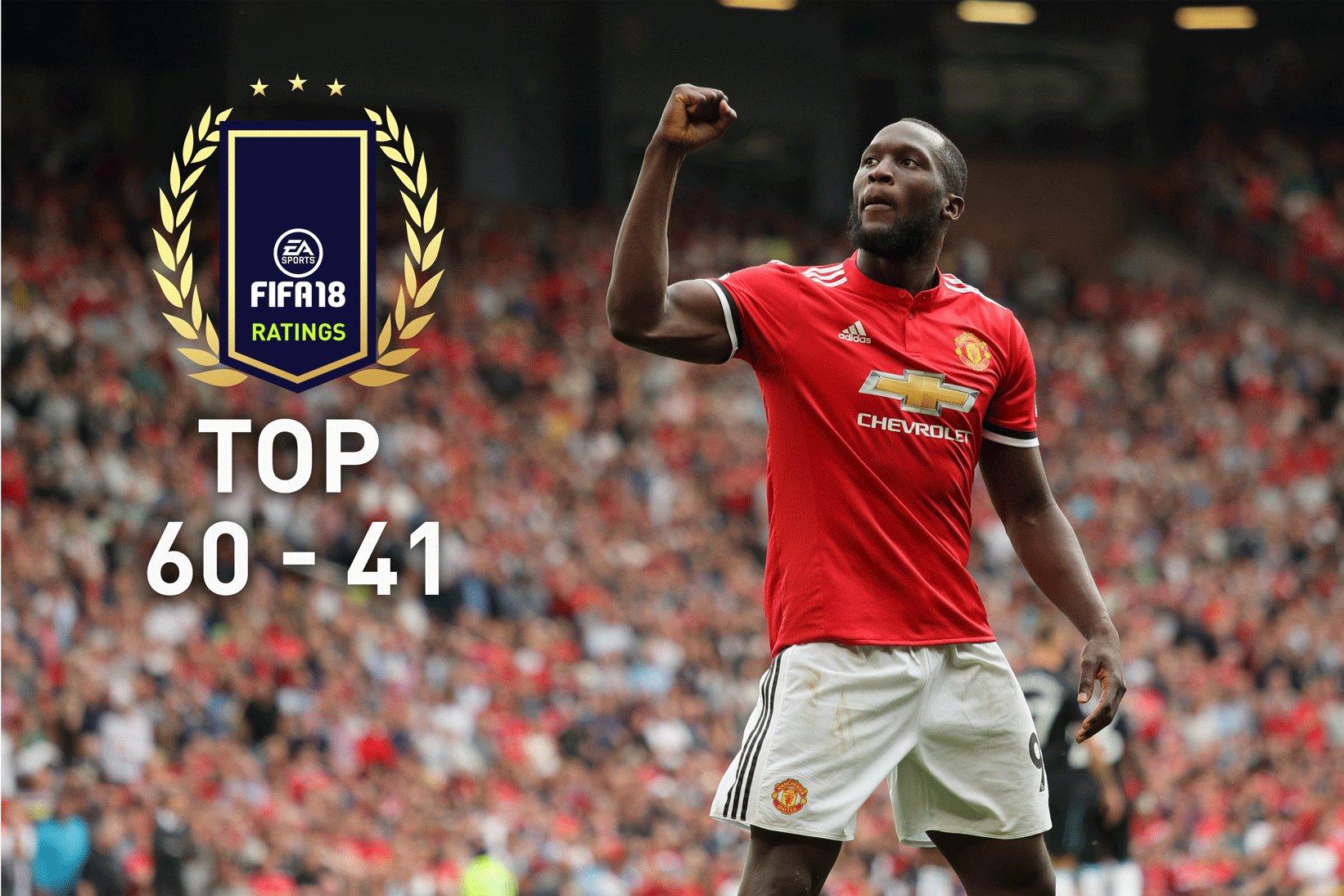 FIFA 18 Spielerwerte – Die Ratings Top 60-41