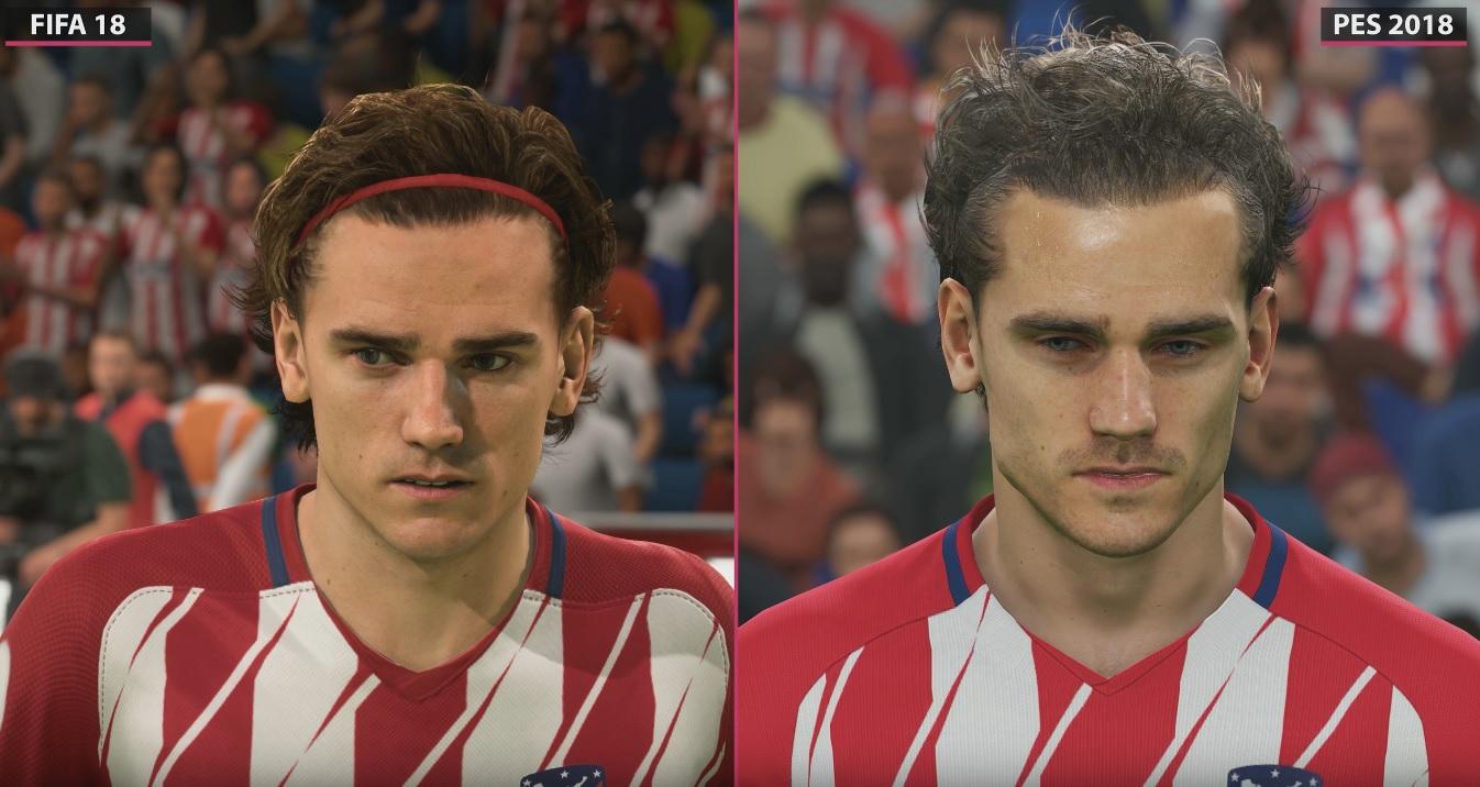FIFA 18 vs. PES 2018 – Grafik-Vergleich im Video