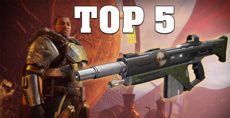 Destiny 2 – Die 5 besten Eisenbanner-Waffen
