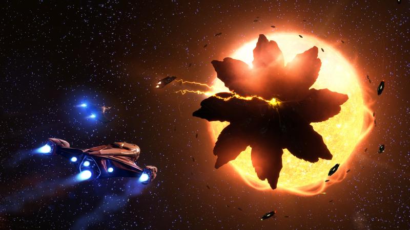 Alien-Krieg? Thargoiden greifen Raumstationen in Elite Dangerous an!