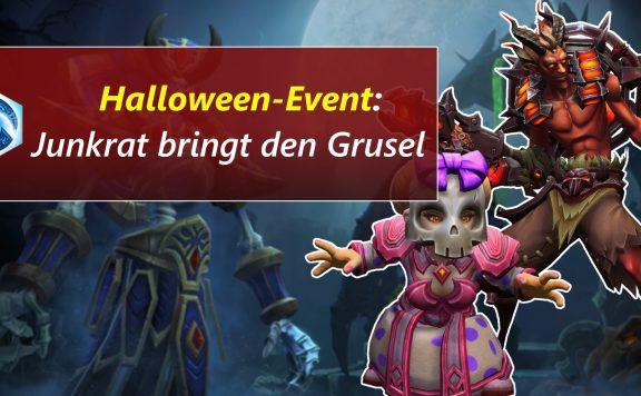 HotS Junkrat Halloween Grusel title