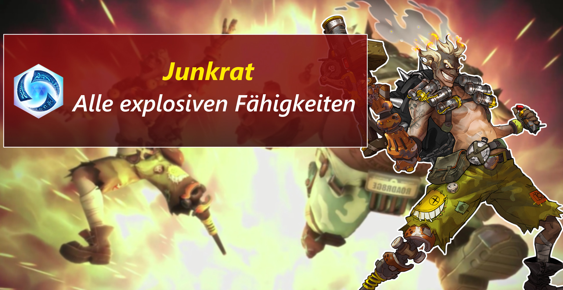 Heroes of the Storm: Junkrat hat eine Selbstmordrakete