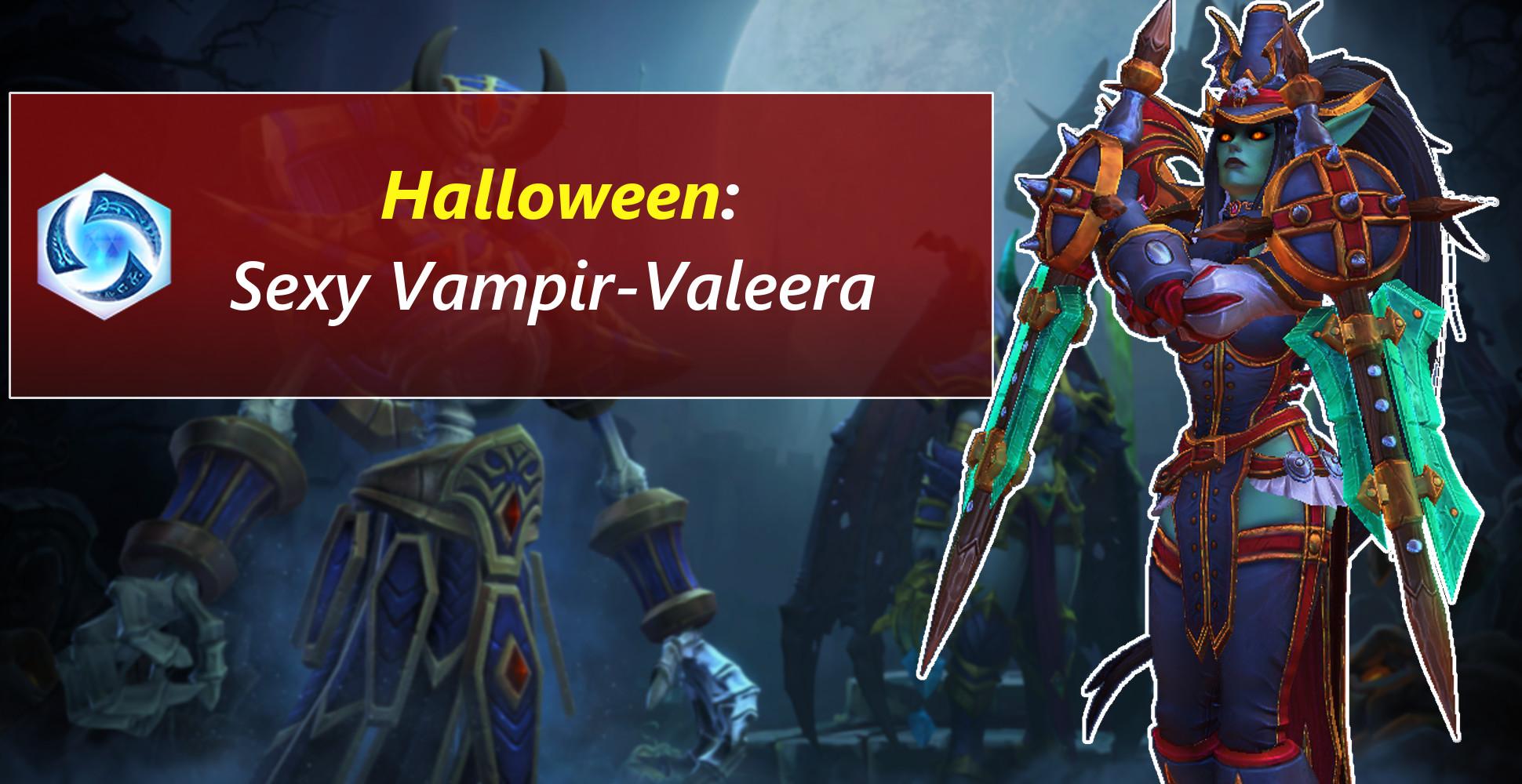 Valeera als sexy Vampirjägerin – Halloween-Skins in Heroes of the Storm