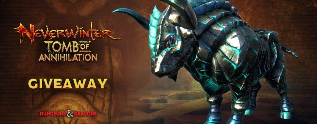 Gewinnt ein Gorgonen-Mount für Neverwinter auf PS4 & Xbox One