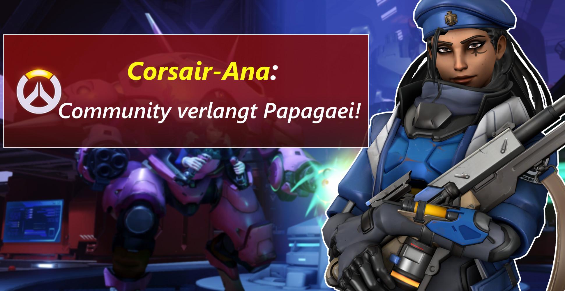 Overwatch: Ana hat 'nen Vogel und die Community rastet aus