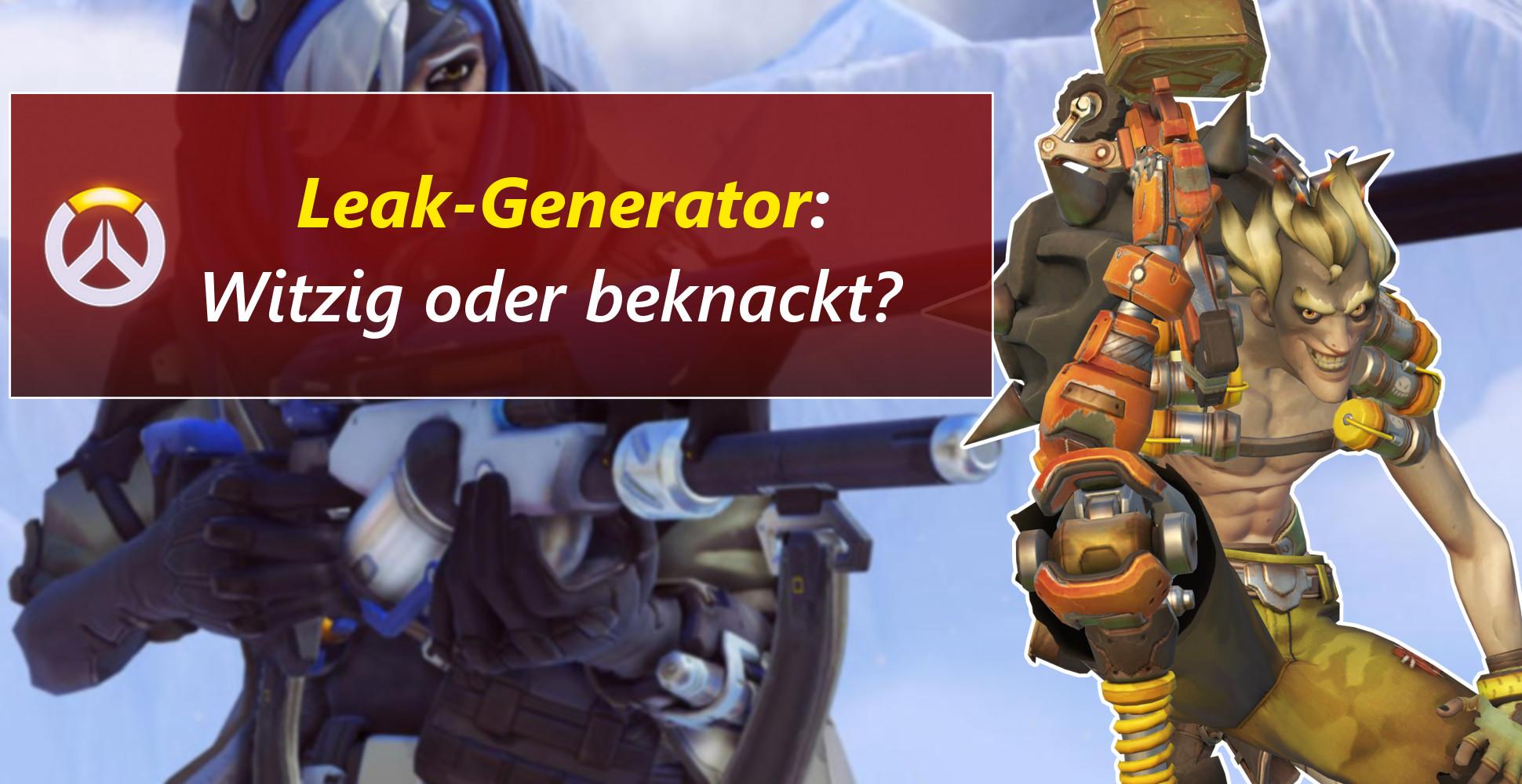 Overwatch: Jede Menge Fake-Leaks – Das ist der Leak-Generator!