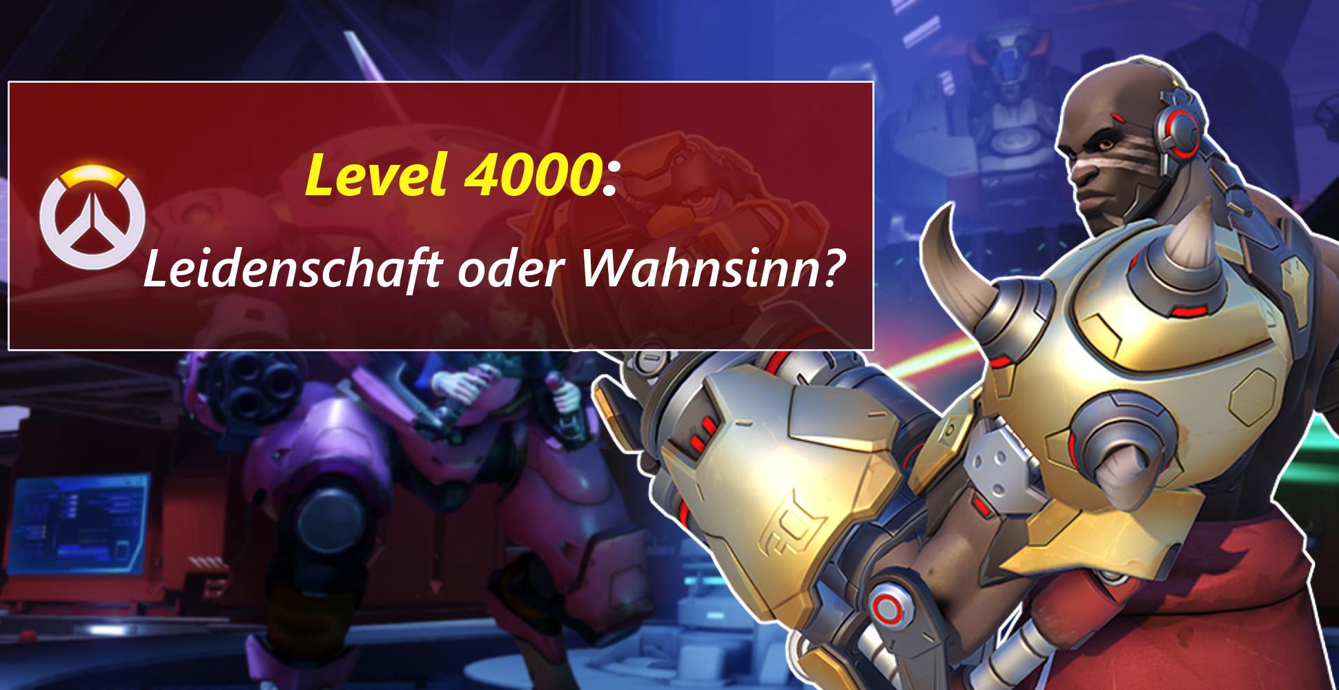 Overwatch: Irre – Spieler erreicht Accountlevel 4000!