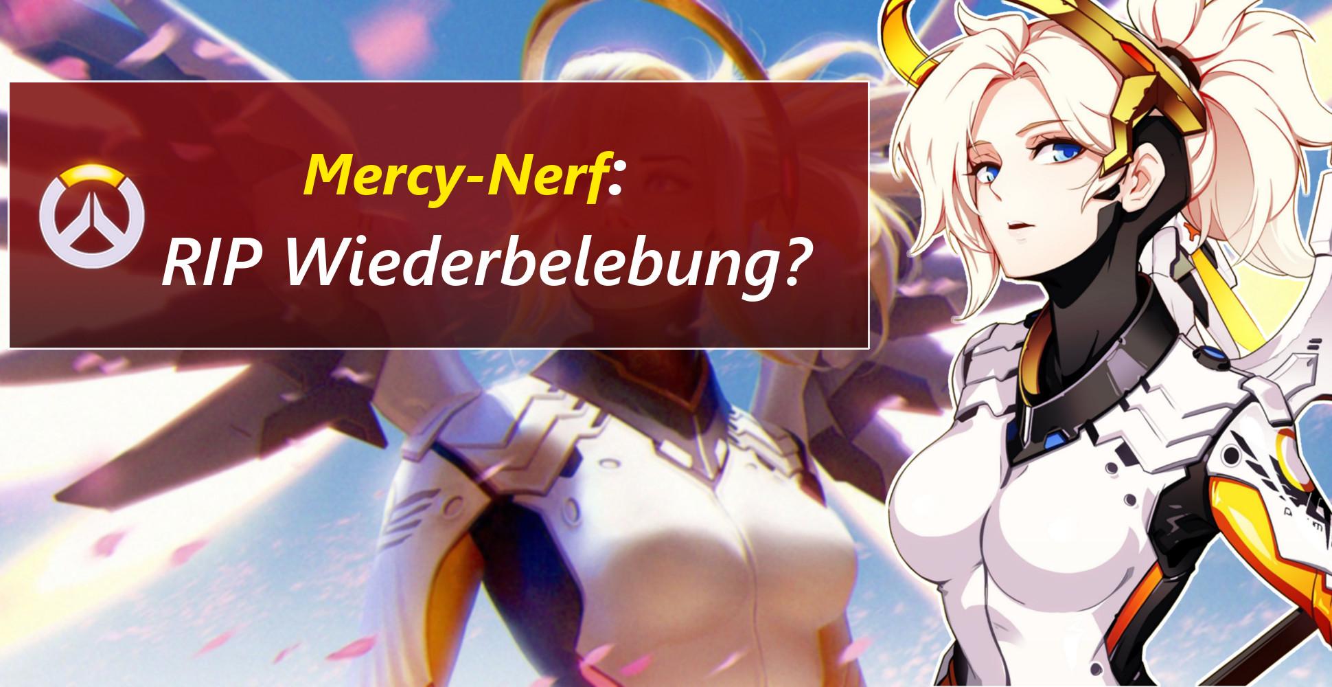 Overwatch: Mercy-Nerf – Wiederbelebung wird geschwächt!