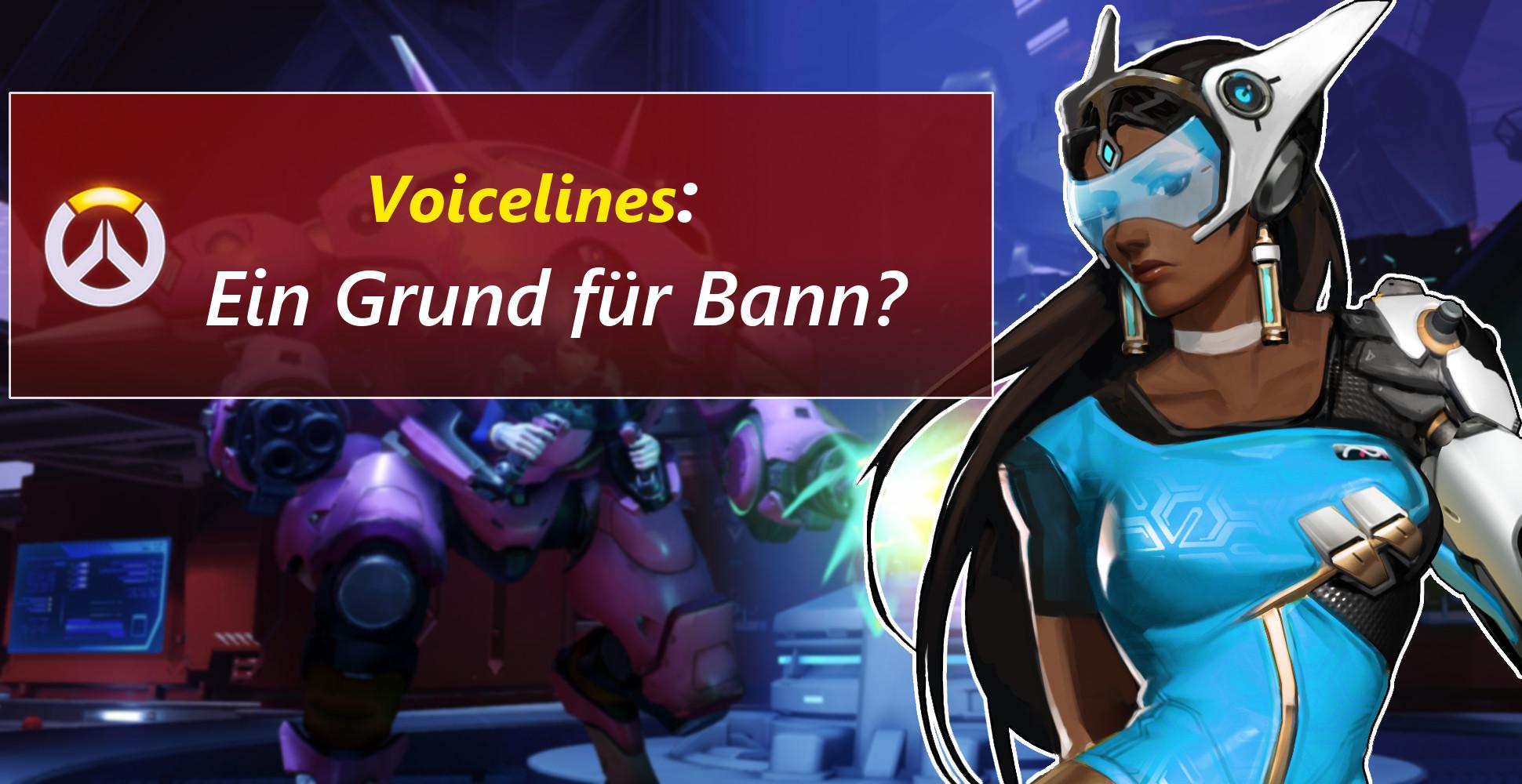 Voicelines können zum Bann führen – Absurde Overwatch-Regeln!