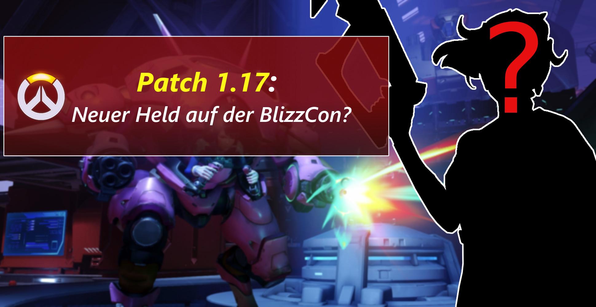 Overwatch: Patch 1.17 ist live – Neuer Held auf der BlizzCon?