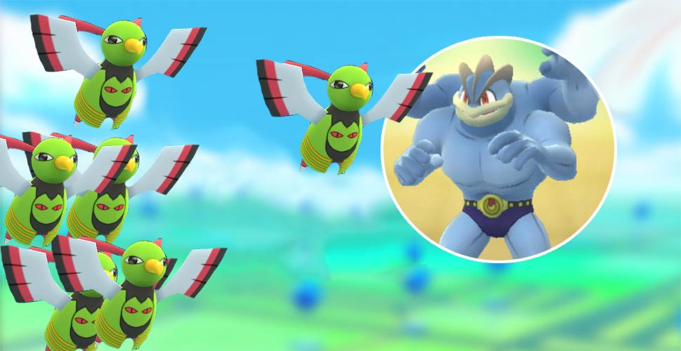 Pokémon GO: Kann dieser Raid-Kampf gelingen? – 6 Xatu gegen Machomei