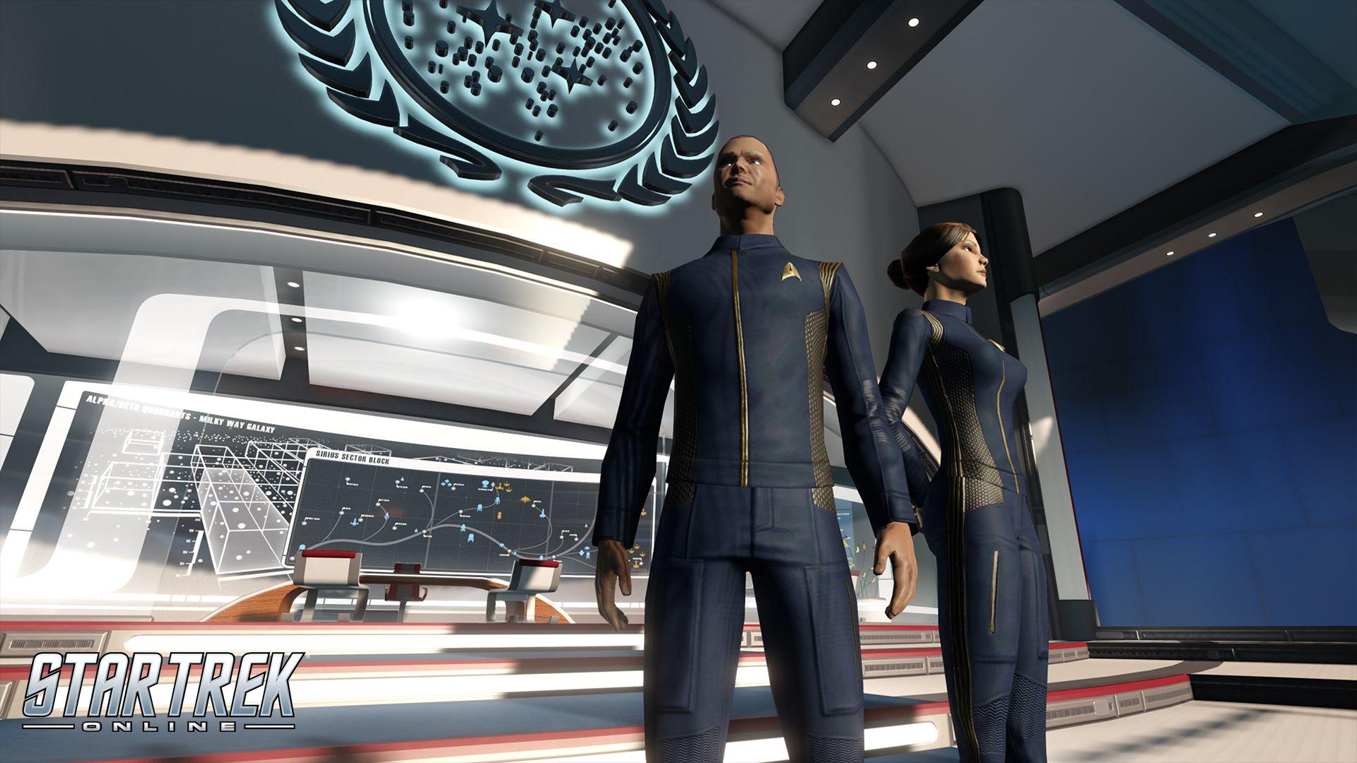 Star Trek Online schenkt euch Uniformen aus der Netflix-Serie Discovery