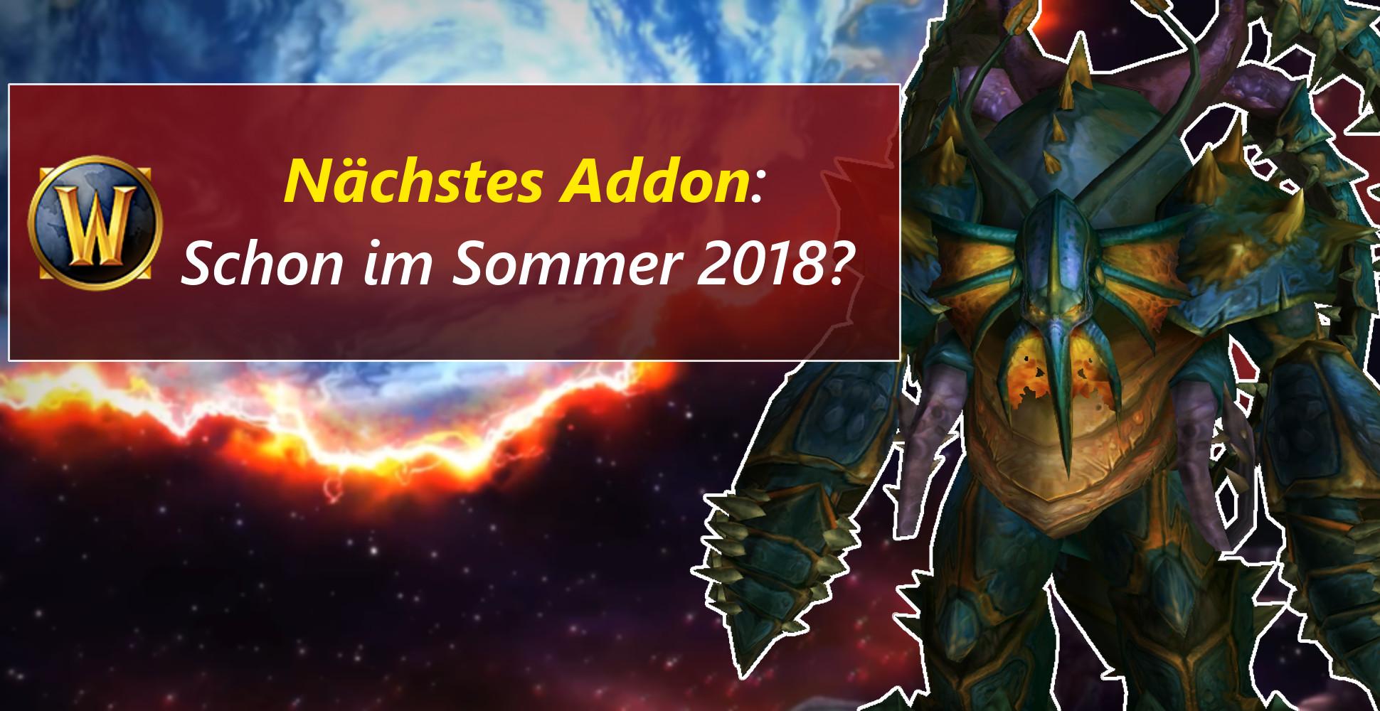 Wann erscheint das nächste Addon für World of Warcraft?