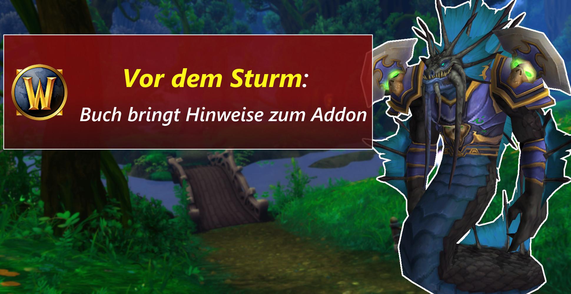 """WoW: """"Before the Storm"""" – Vorgeschichte zum neuen Addon angekündigt"""