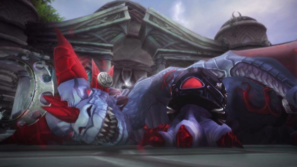 World of Warcraft Dragon Lore Yseras Fall