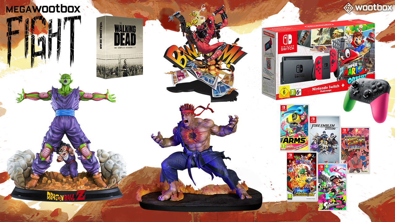 """Mega-Wootbox """"Fight"""" vom November bietet Loot für über 2.000 Euro!"""