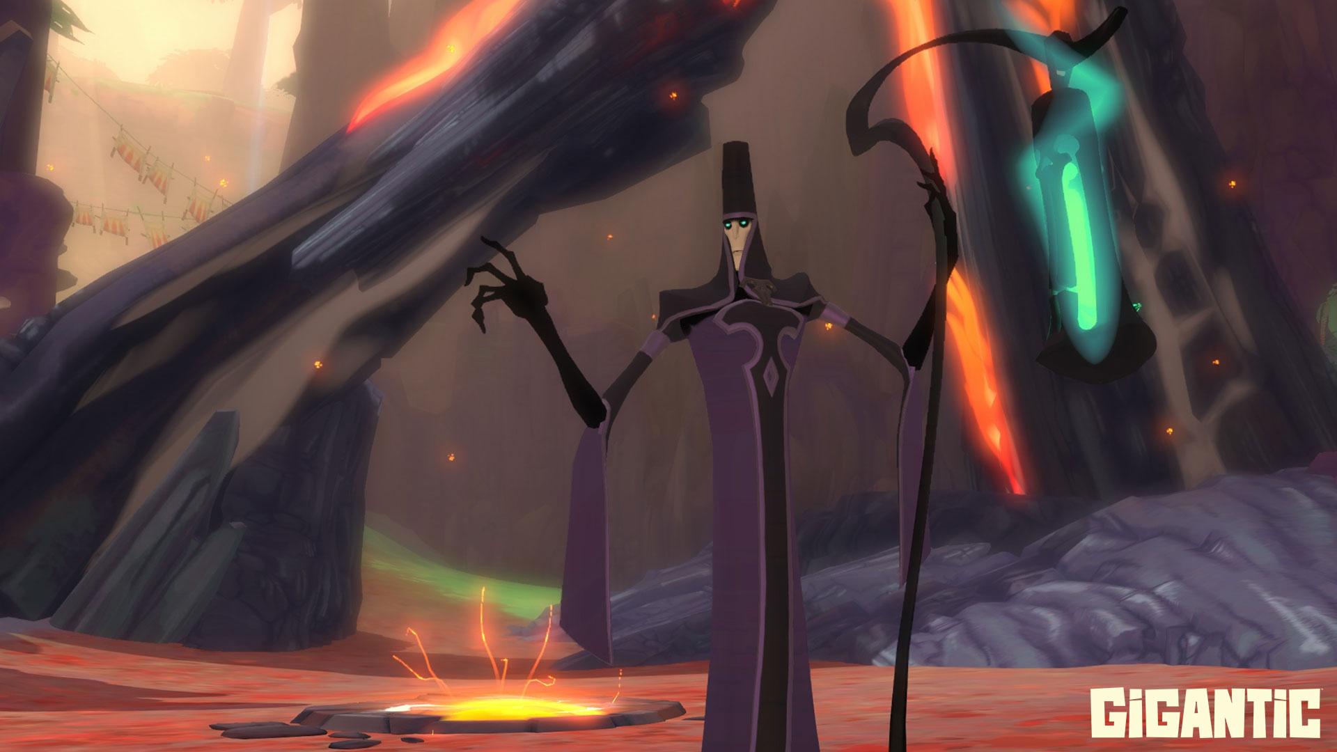 Zu Halloween gibt's in Gigantic fiese Nekromanten & gruselige Wald-Map