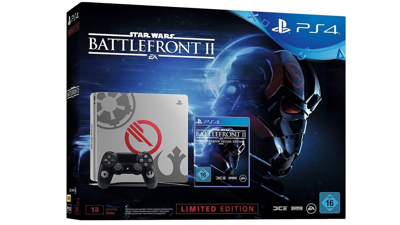 PlayStation 4 im limitierten Battlefront II Design – Amazon-Angebot