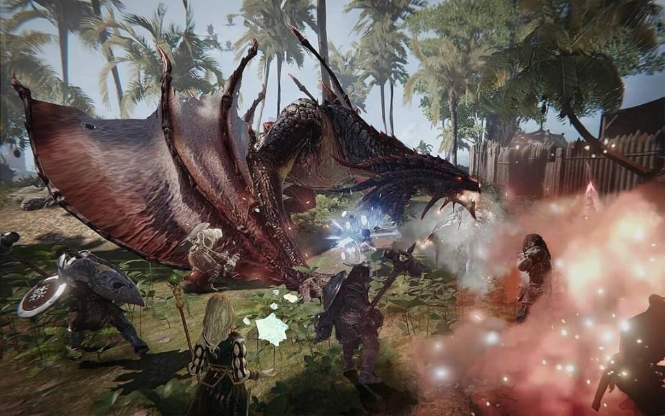 Das neue MMORPG A:IR zeigt Schurken – Concept-Art Schwarze Herolde
